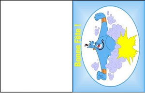 carte message disney 15