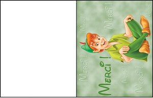 carte message disney 16