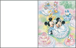 carte message disney 5