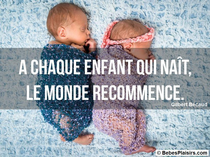 citation de bébé 1