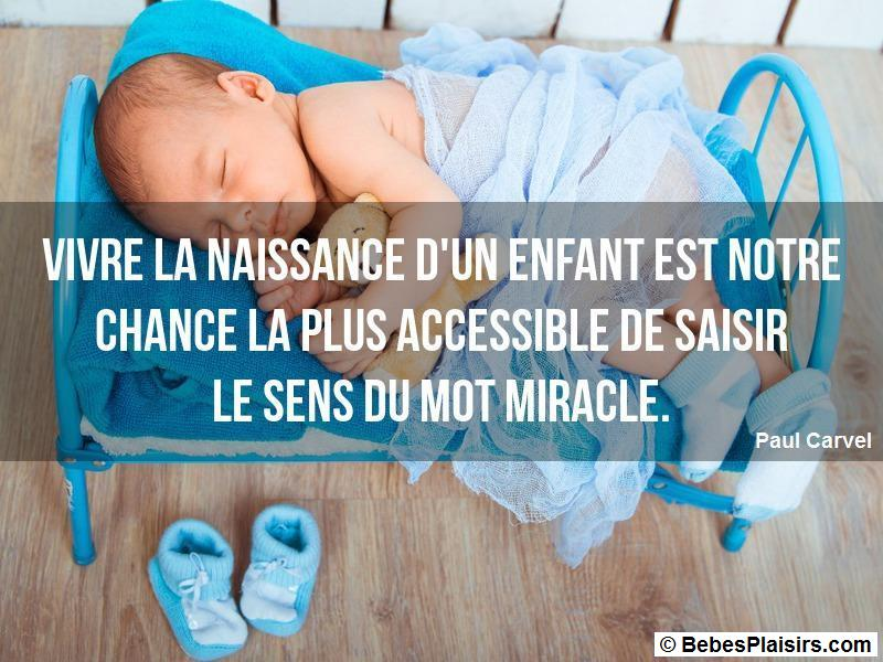 citation de bébé 70