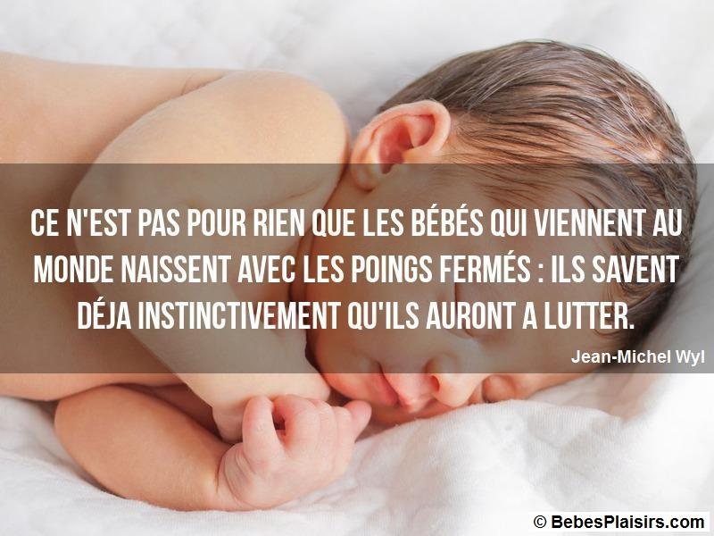 citation de bébé 48