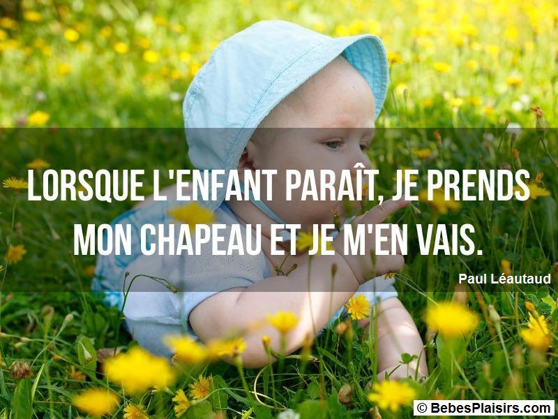 citation de bébé 55
